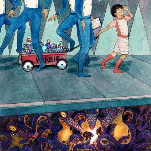 The Gobbling children's book