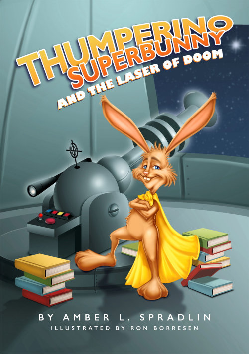 Book cover of Bunny and super doom