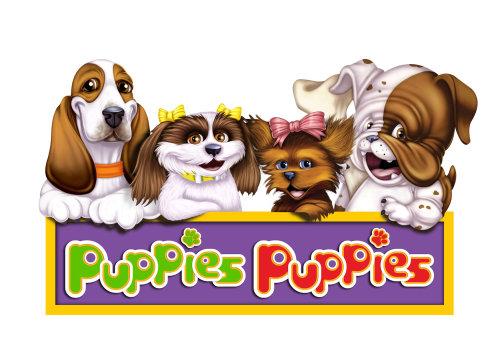 Puppies Puppies character design