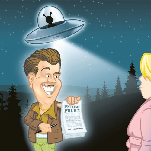 Illustration of  policy agent with UFO