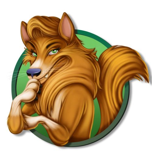 Fox illustration by Ron Borresen