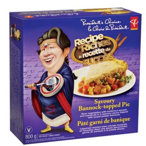 Recipe to riches product box design