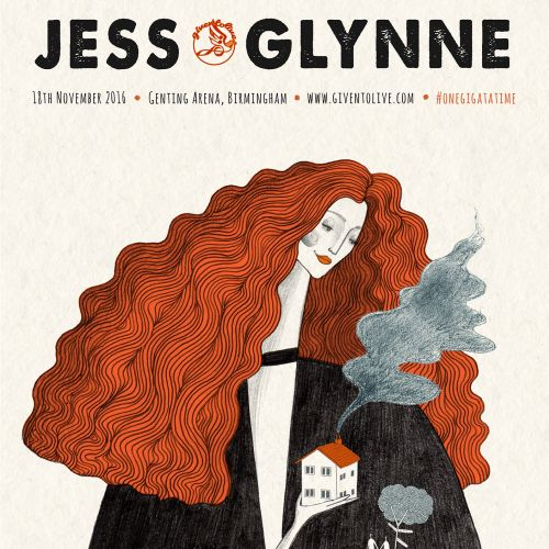 Illustration of a Jess Glynne
