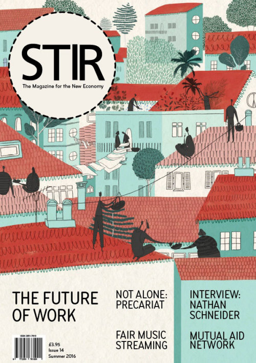 Front cover for STIR Magazine