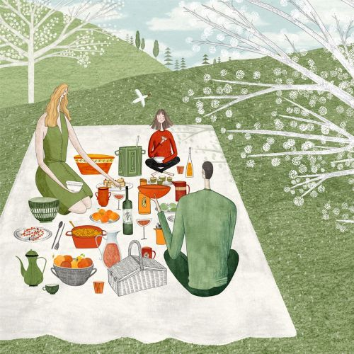 spring, summer, picnic, family, book, childrens book, child