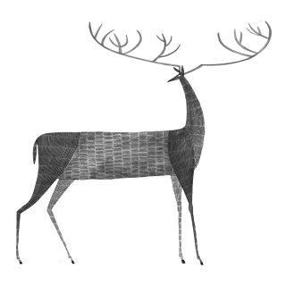 deer, stag, moose, elk