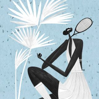 woman, women, sports, tennis, girl, pose, fashion, style, 1920s, outfit, tennis player, female