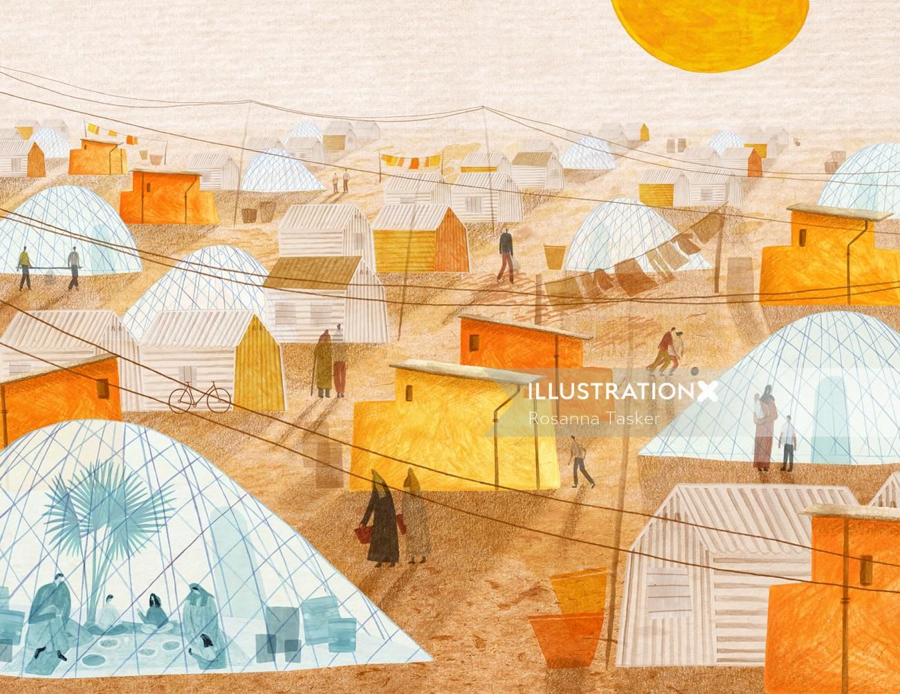 climate change, climate, global warming, refugee, refugees, refugee shelter, refugee camp, science,