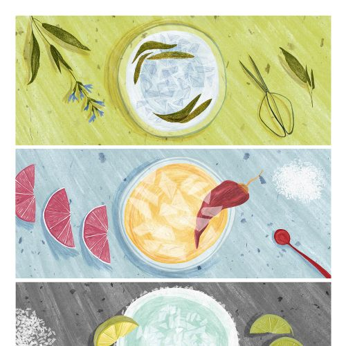 Rosanna Tasker 食品 Illustrator from United Kingdom