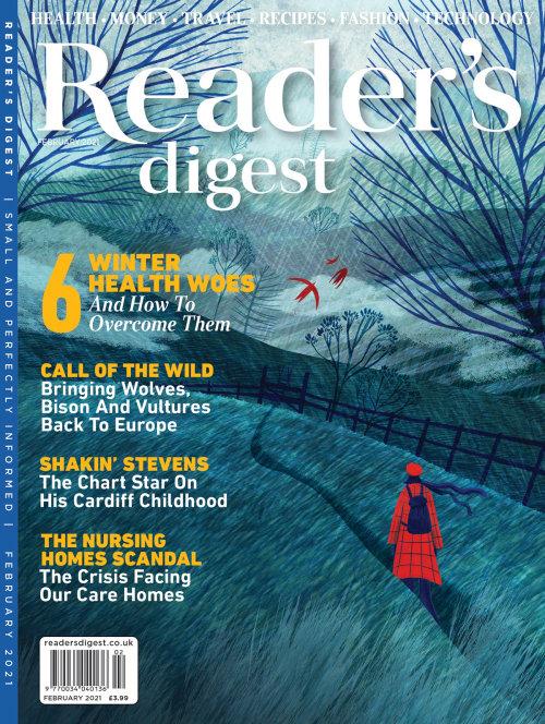 Reader's Digest Magazine cover art
