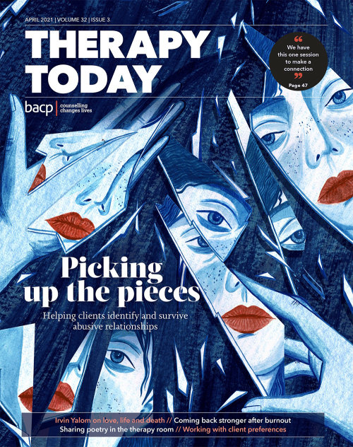 Cover illustration for Therapy Today Magazine