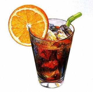 Fruit beverage illustration by Rosie Sanders