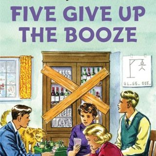 bookcover of five give up the booze