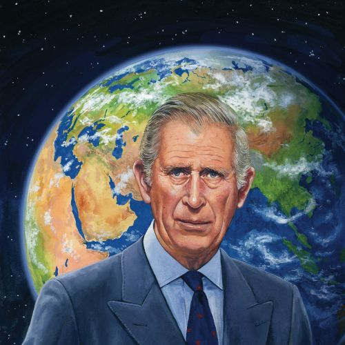 Prince charles portrait for telegraph magazine cover