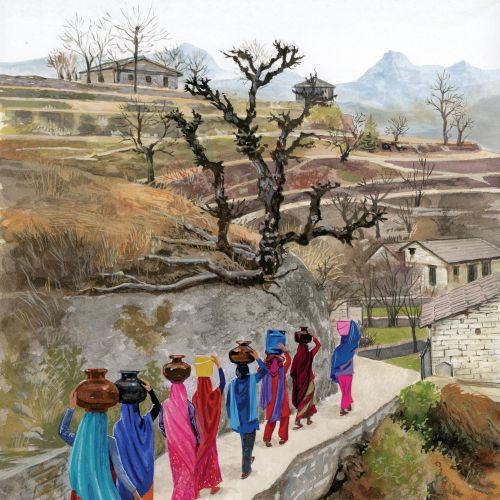 Ruth Palmer Traditional painterly illustrator. UK