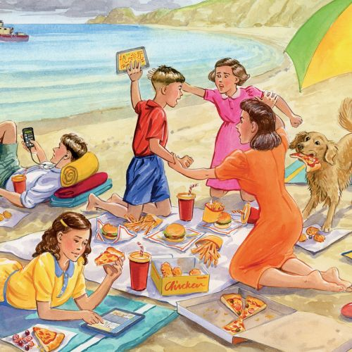 Ruth Palmer Children Illustrator from United Kingdom