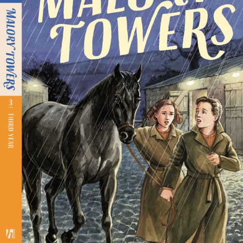Third year at malory towers book cover illustration