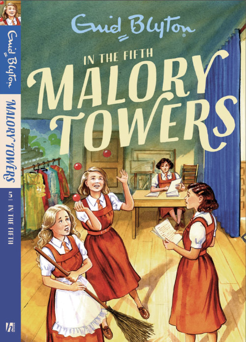In the Fifth at Malory Towers Book Cover