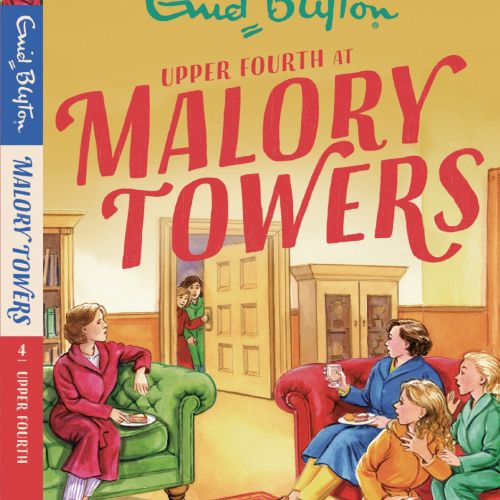 Malory towers book cover illustration by ruth palmer