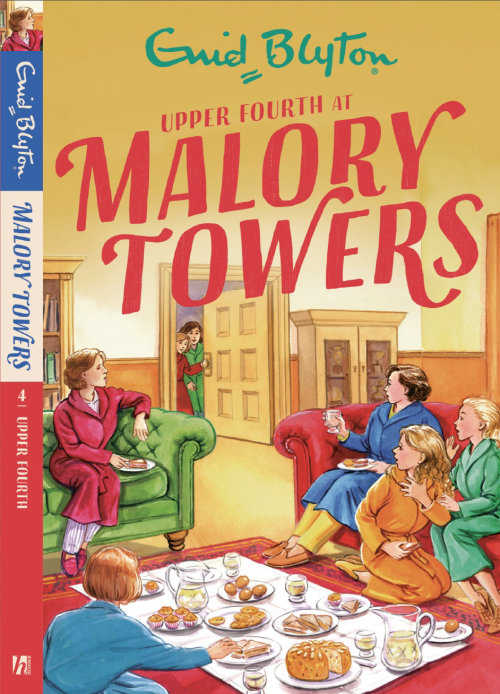 malory towers cover illustration by ruth palmer