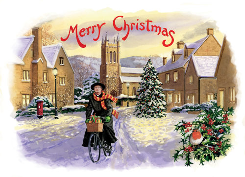 Father Brown xmas card