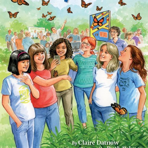 Monarch Mysteries children book cover