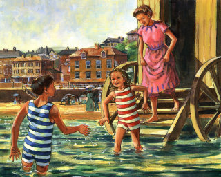 Painterly for Victorian Seaside by Harcourt Primary