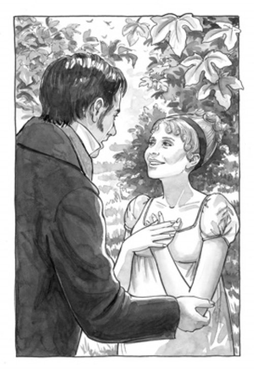 Graphic art of Happy ending