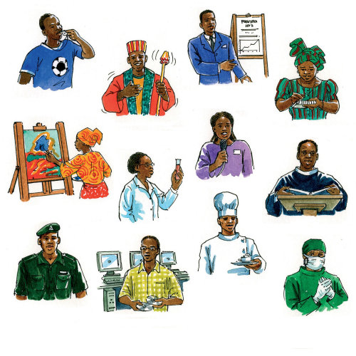 Nigerian Occupation art
