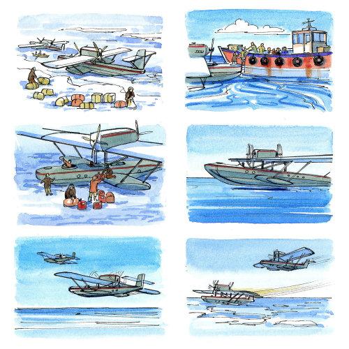 North pole trip history