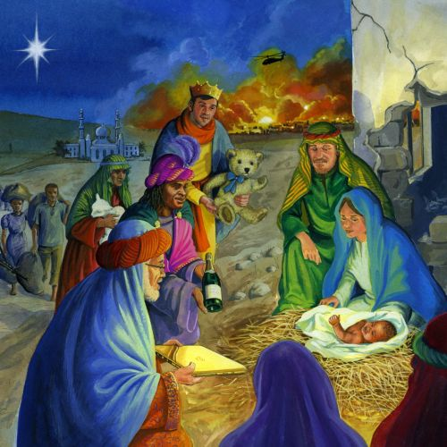 nativity series art