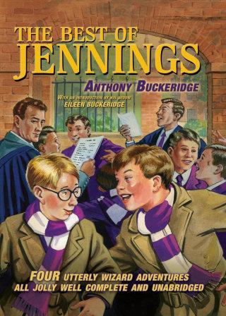 book cover  for anthony buckeridge