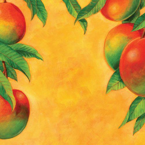 Mango Mural art