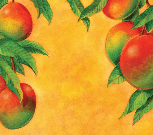 芒果壁画艺术