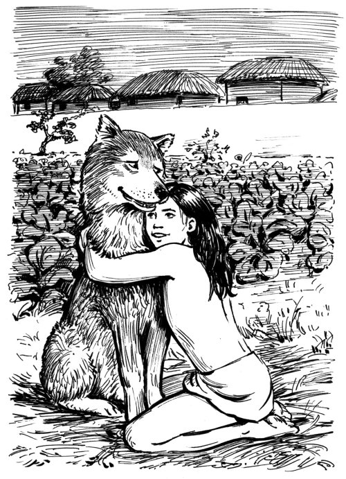 jungle book illustration