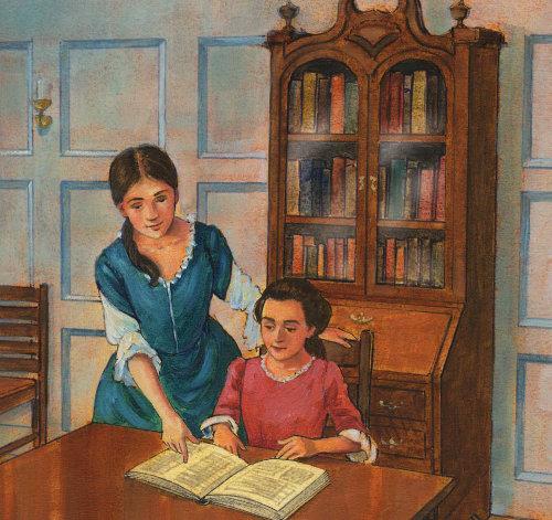 Abigail Adams Pastiche Art