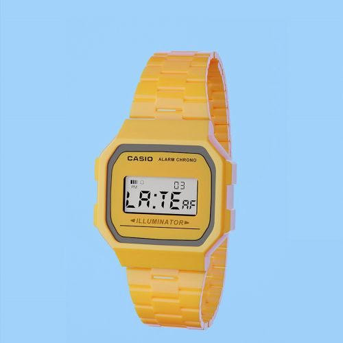 Digital painting of Casio watch