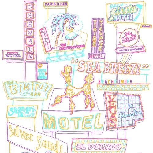 Sarah Beetson Pop culture illustrator. Australia