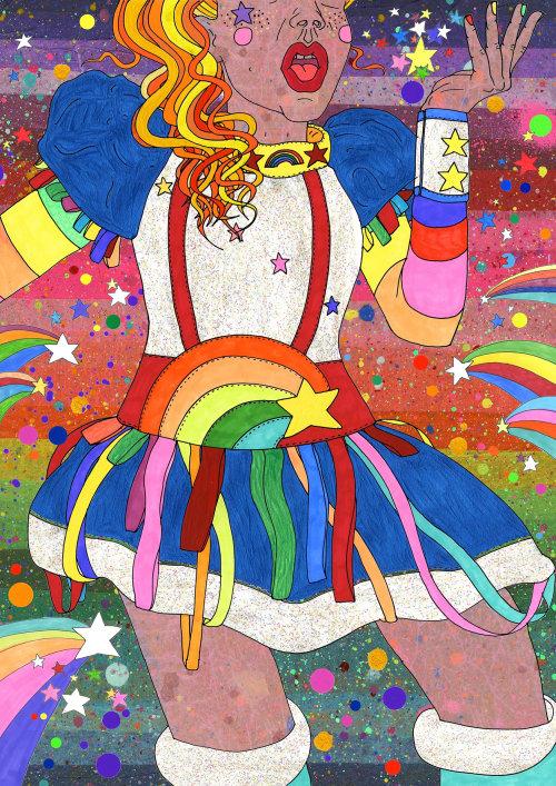 Feliz Mardi Gras Sydney ilustração colorida