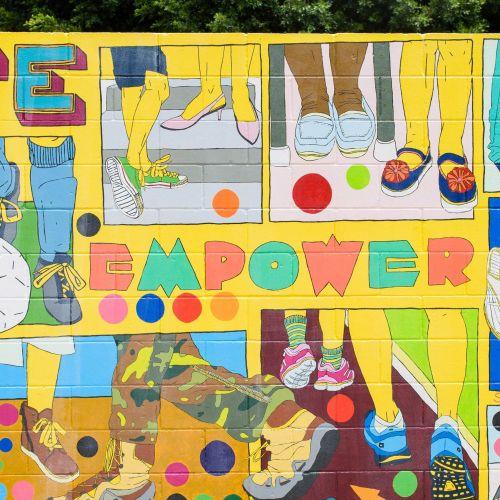 Sarah Beetson Art de rue et peinture murale