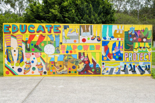 Educate Street Mural