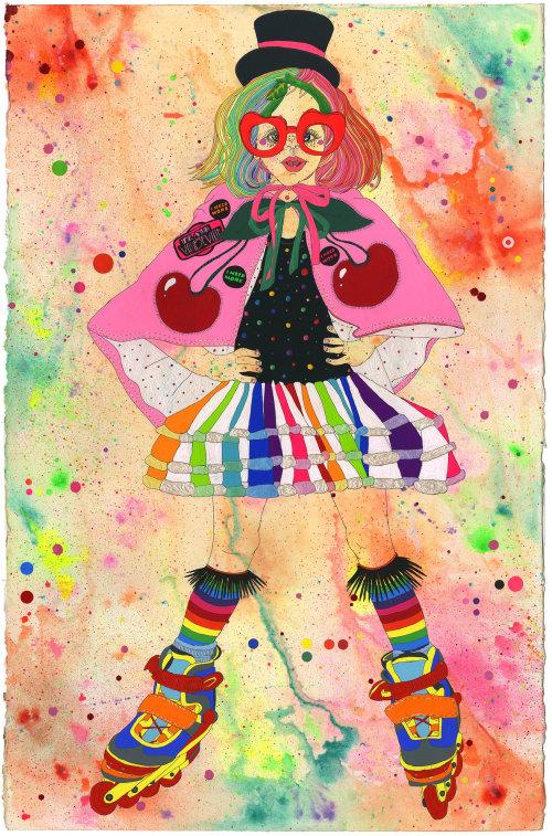 Ilustração de moda de The Queen Of Sass