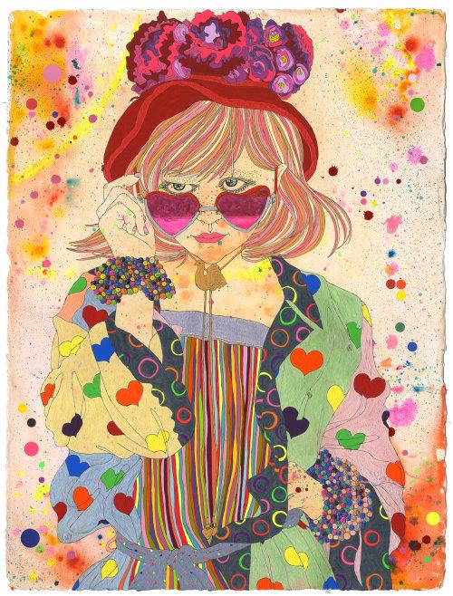 Ilustração de moda infantil de Sarah Beetson