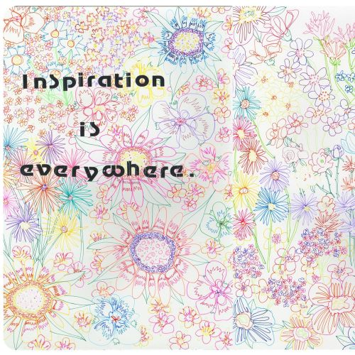 Concept for inspiration is everywhere illustration by Sarah Beetson