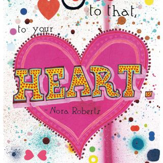Heart illustration by Sarah Beetson