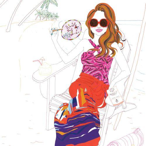 Sarah Beetson Ilustrador da cultura pop. Austrália