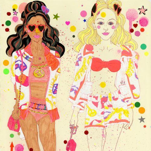 Fashion illustration for Women