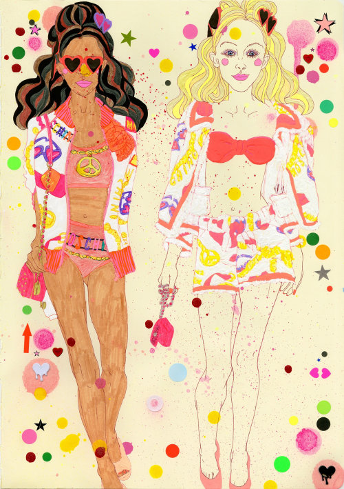 Fashion illustration for Women
