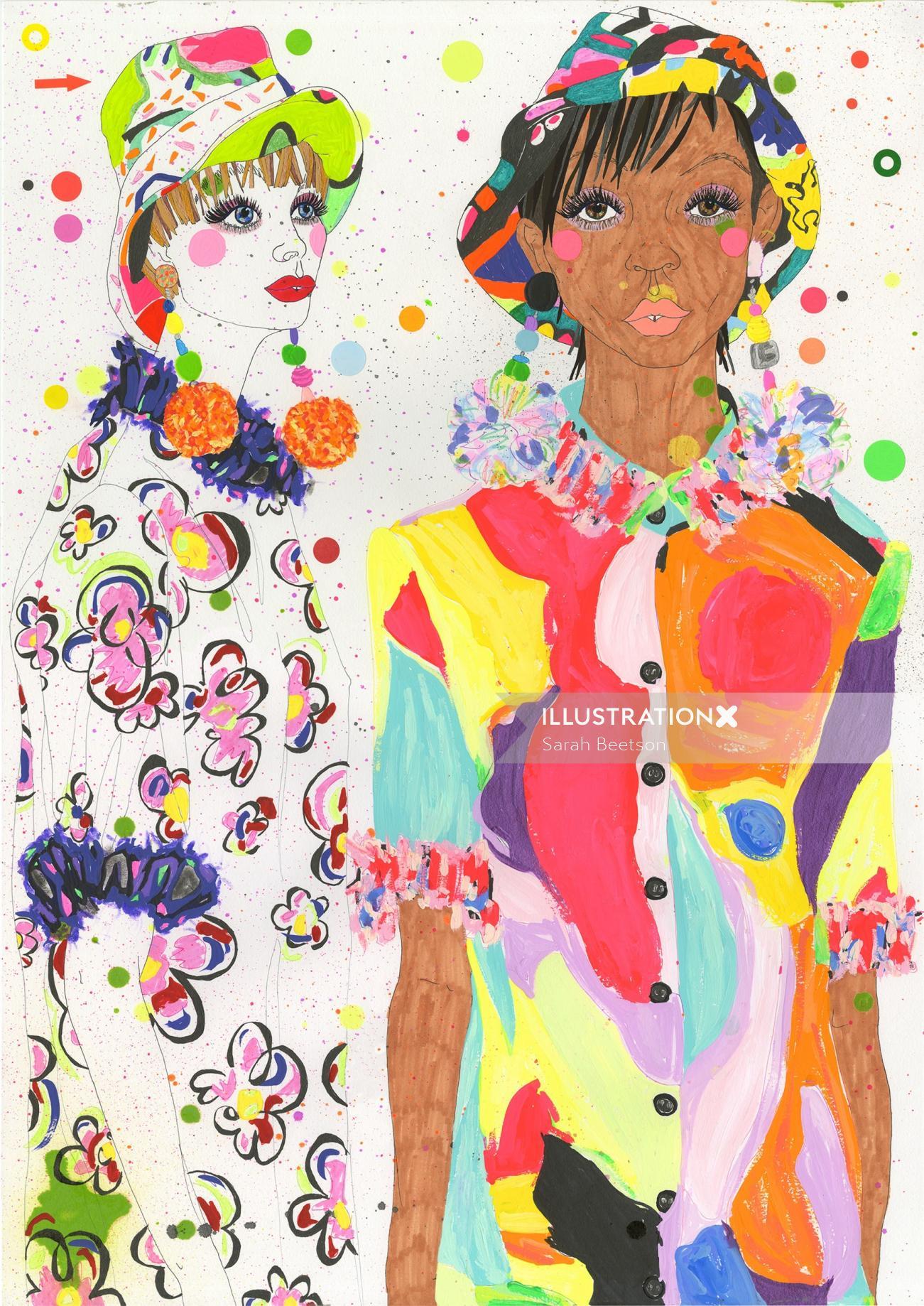 Kit Neale illustration by Sarah Beetson