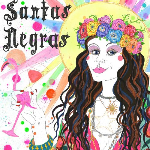 Santas Negras illustration by Sarah Beetson